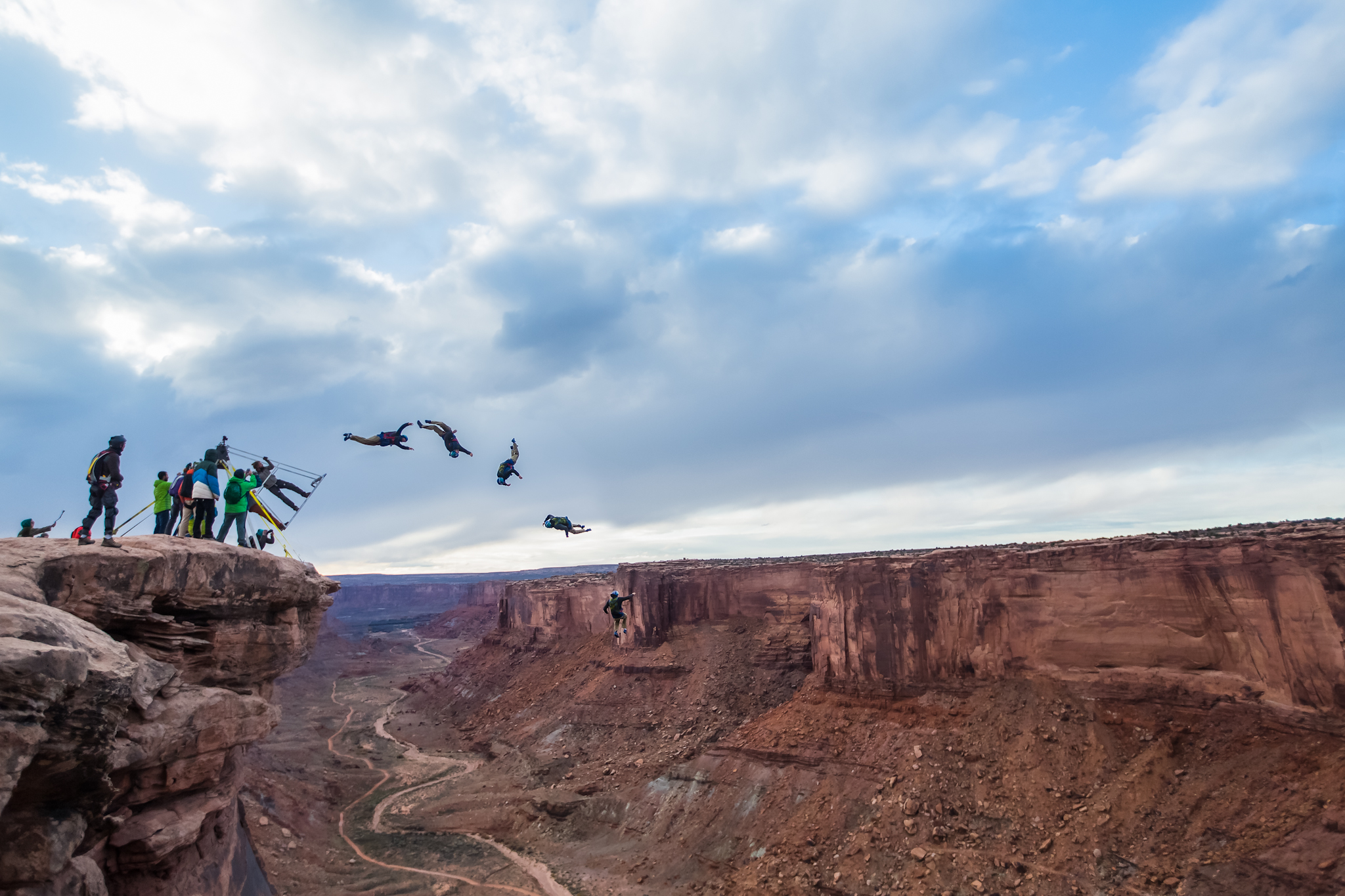 3b33df8506b0 The Russian Swing BASE Story. - Professional Base Jumper and Stuntman